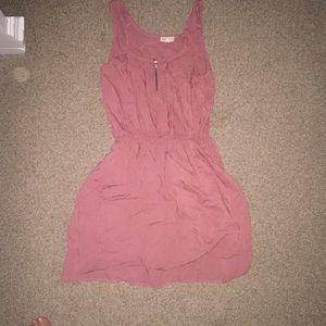 Mauve summer dress from Ardene's